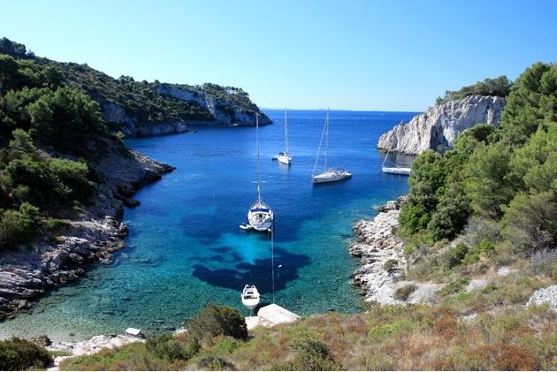 Остров Шолта | Atlantis Yacht Club - Обучение яхтингу и аренда яхт ...